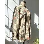 another view of Japanese Silk Blend Floral Kimono