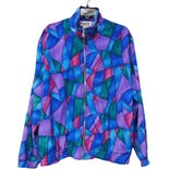 90's Multi-Color Abstract Jacket by Teddi