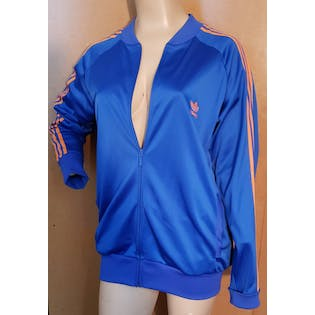 Blue and Orange Tracksuit by Adidas
