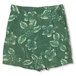 another view of 90's Green Floral Skort Set by Woolrich