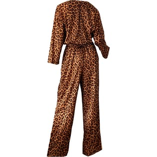 70's Leopard Party Jumpsuit by Lisanne