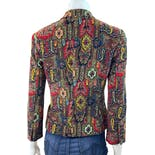 another view of Colorful Corduroy Paisley Blazer by Dkny New York