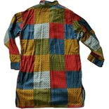 another view of 60's/70's Men's Patchwork Sleep Shirt by Sleeperinos