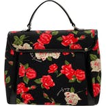 another view of Roses Handle Bag by Lulu Guinness