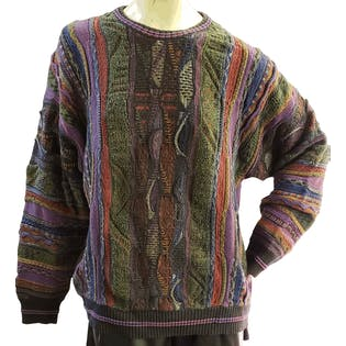 80's Dad Sweater by Via Europa