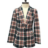 70's Plaid Blazer by Lucky Tops
