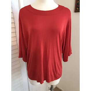 Rayon Loose Blouse by Jean Muir