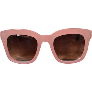 Extra As Guac Pink Cat Eye Sunglasses