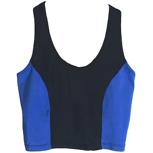 80's Athletic Crop Top by Pace