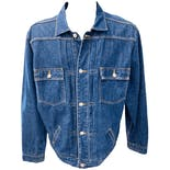 00's Denim Pocketed Jacket by Ralph Lauren