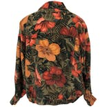 another view of Silk Floral Print Jacket by Rafaella