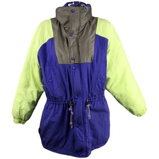90's Purple Neon Ski Jacket by Powderhorn