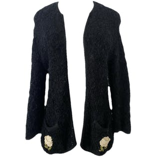 50's Rose Cardigan by Jules Tabach