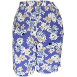 90's Silk Floral Print High Waisted Shorts by Casual Corner