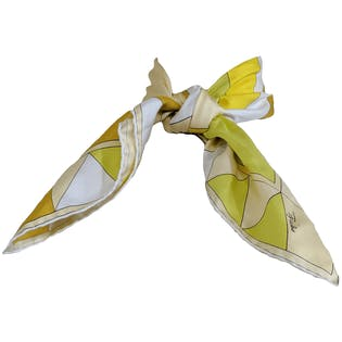 Bright Geometric Scarf by Emilio Pucci