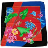 Brightly Colored Koi Fish Leonard Scarf