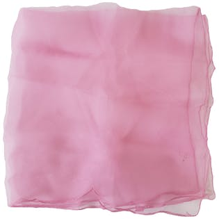 60's Sheer Soft Pink Scarf