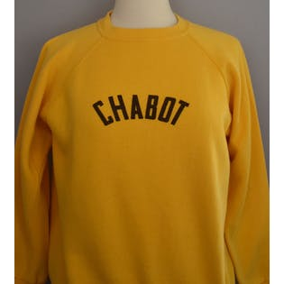 80's Chabot College Raglan Sweatshirt by Champion