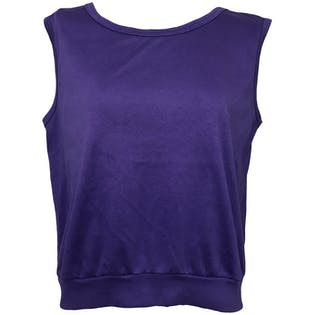Dc Shoecousa Tank Top ($60) liked on Polyvore featuring ...  |Deep Purple Tank Top