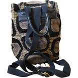 another view of Tapestry Carpet Mini Backpack