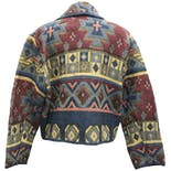 another view of Tribal Print Knit Blazer by New Identity