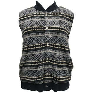 Tribal Print Vest by Lark And Wolff