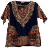 Navy Blue Dashiki