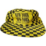 New York New York Taxi Checkered Snapback by Fü
