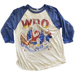 70's Blue and White The Who Tour T-Shirt