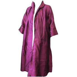 50's Satin Formal Swing Coat