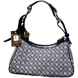 Signature DB Canvas Jacquard Shoulder Bag by Dooney & Bourke