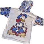 80's Donald Duck Jerry Leigh Hooded T-Shirt by Disney