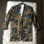 another view of Floral & Paisley Print Blazer
