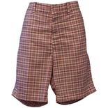 70's Plaid Leisure Shorts