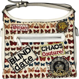 Butterfly Graffiti Bag by Versace