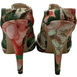 another view of Animal Canvas Mules by Vivienne Westwood