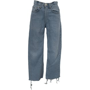 Washed Relaxed Fit Light Blue Jeans by Levi's