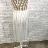 another view of White Satin Skirt Slip by Vanity Fair