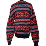 another view of Wool Fair Isle Pullover Sweater by Eddie Bauer