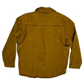 Camel Colored Button Up Work Jacket