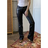 another view of 00's Low Rise Leather Pants by Coach